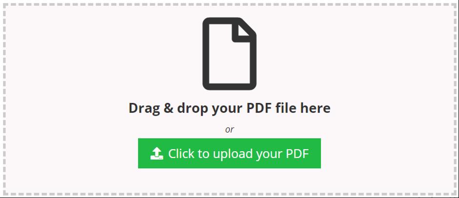 Pdf uploader box